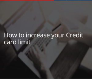 How To Increase Credit Card Limit Kotak