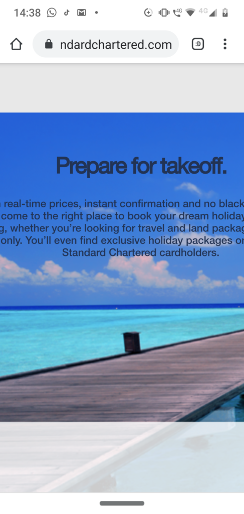 Standard Chartered Credit Card Requirements